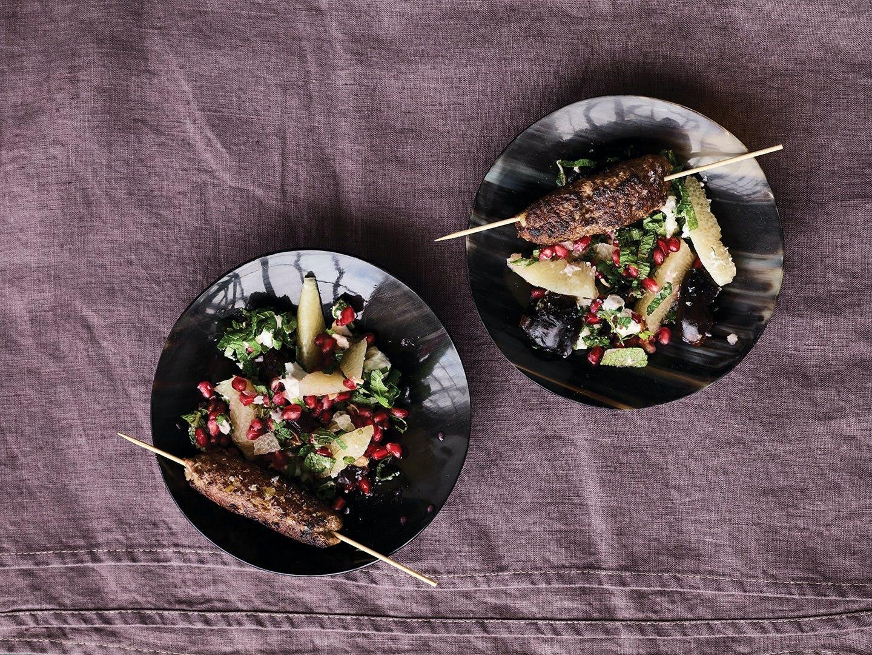 opskrift aftensmad lam lammekebab salat kebab