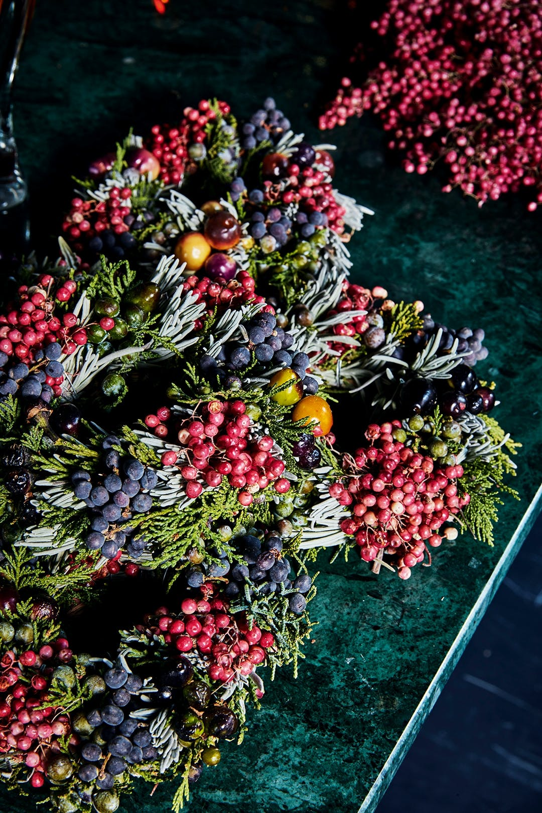 adventskrans jul krans pynt julepynt juledekoration