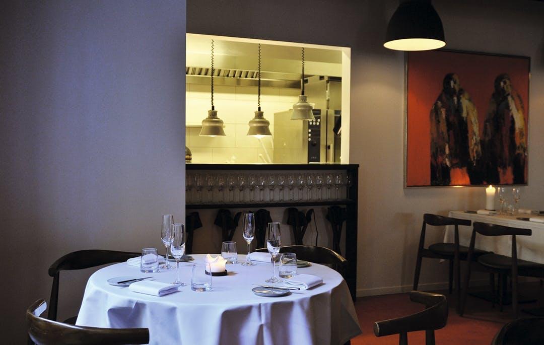 Restaurant bordopdækning spisebord