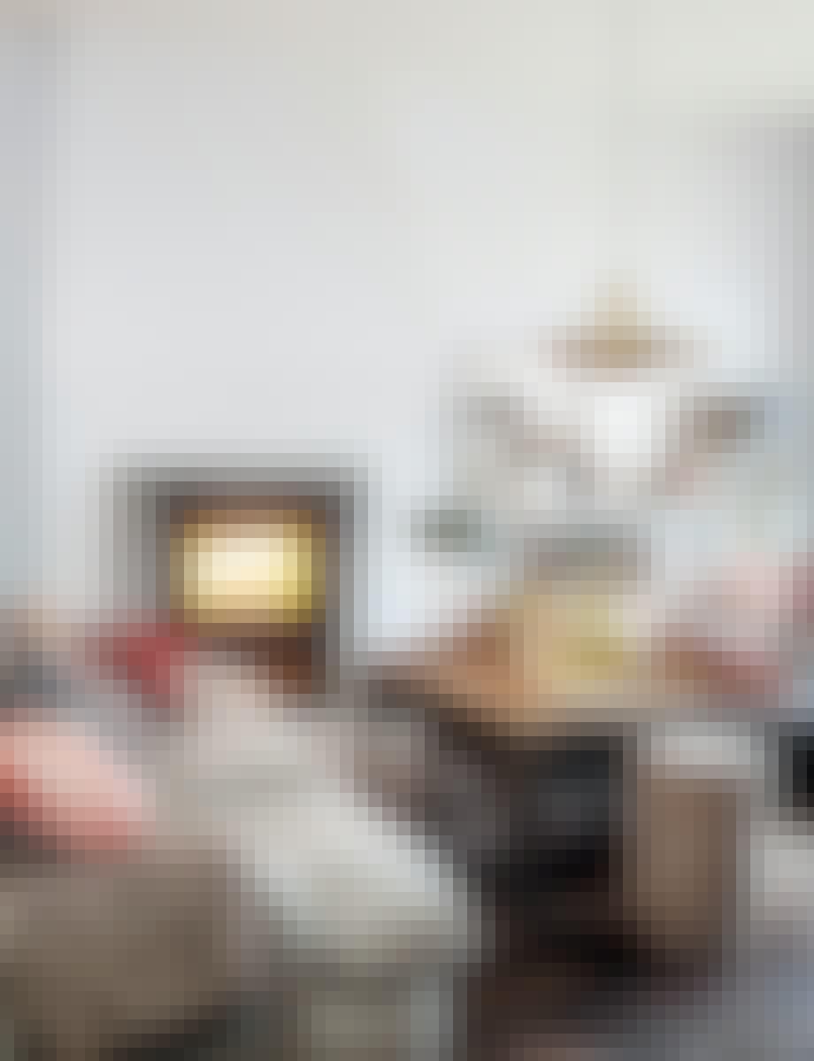 stue sofa sofabord jul julepynt