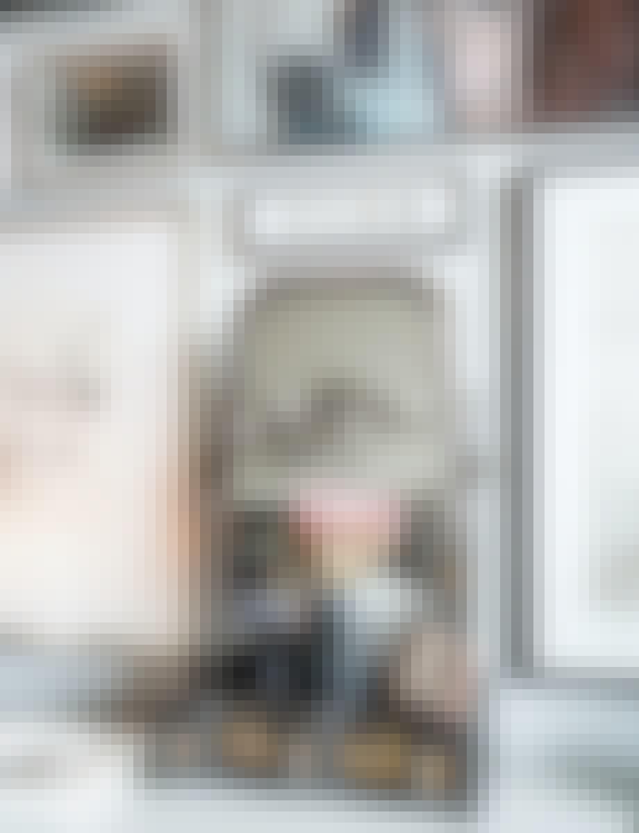 jul julepynt dekoration spejl billeder reol plakat