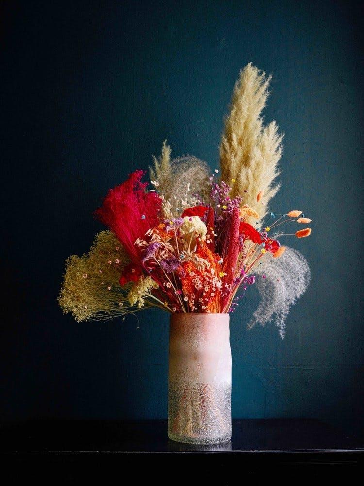 poppy kalas buket evighedsbuket blomster centerpiece