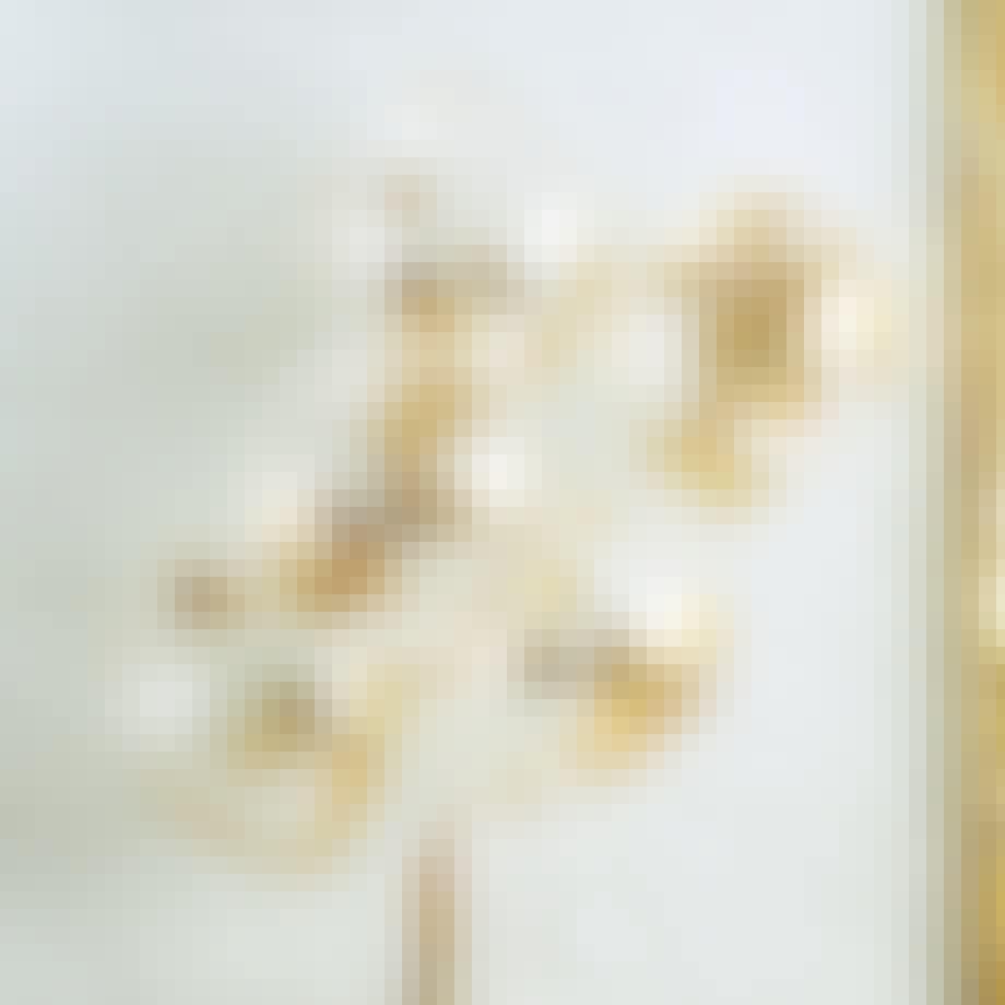 balloner ballon gennemsigtig guld nytår pynt