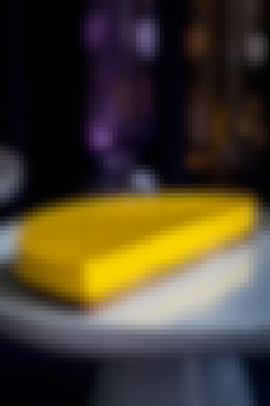 Gul citron cheesecake