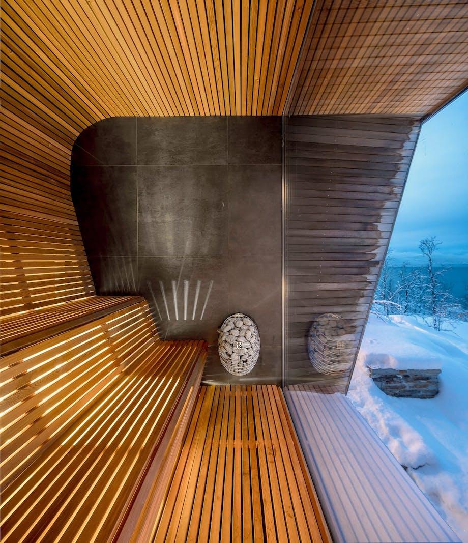 Sauna udsigt arkitektur
