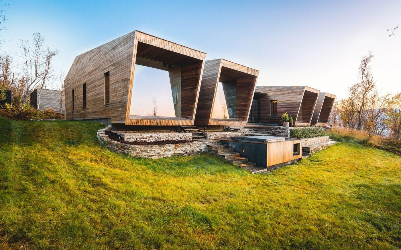 Arkitektur bygning udsigt