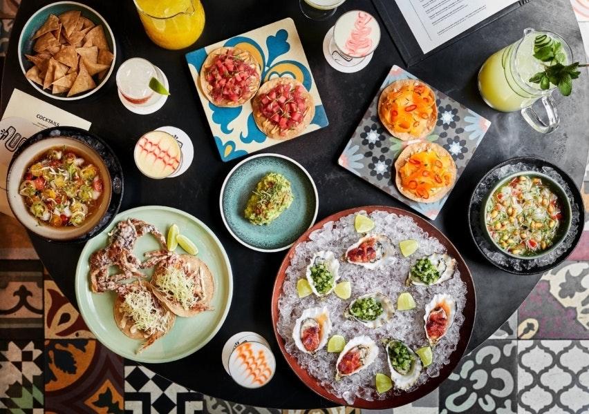 llama restaurant cofoco mexicansk