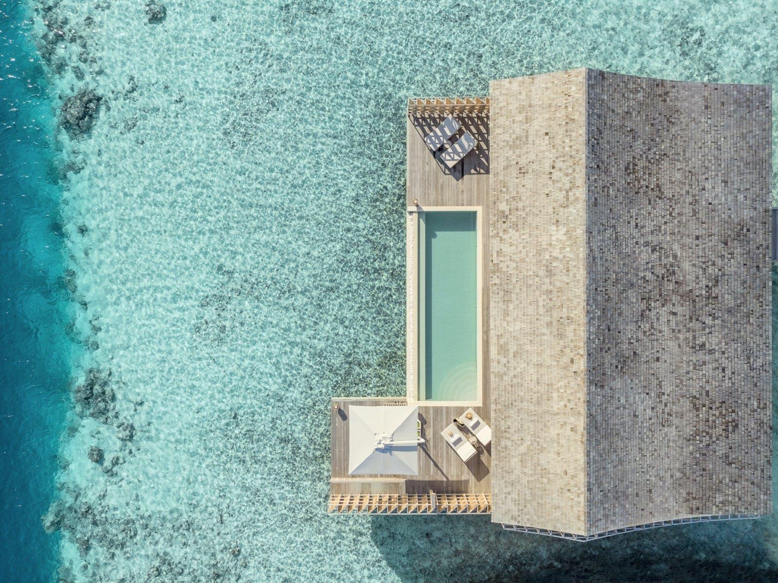 Kudadoo Maldives retreat villa maldiverne hotel