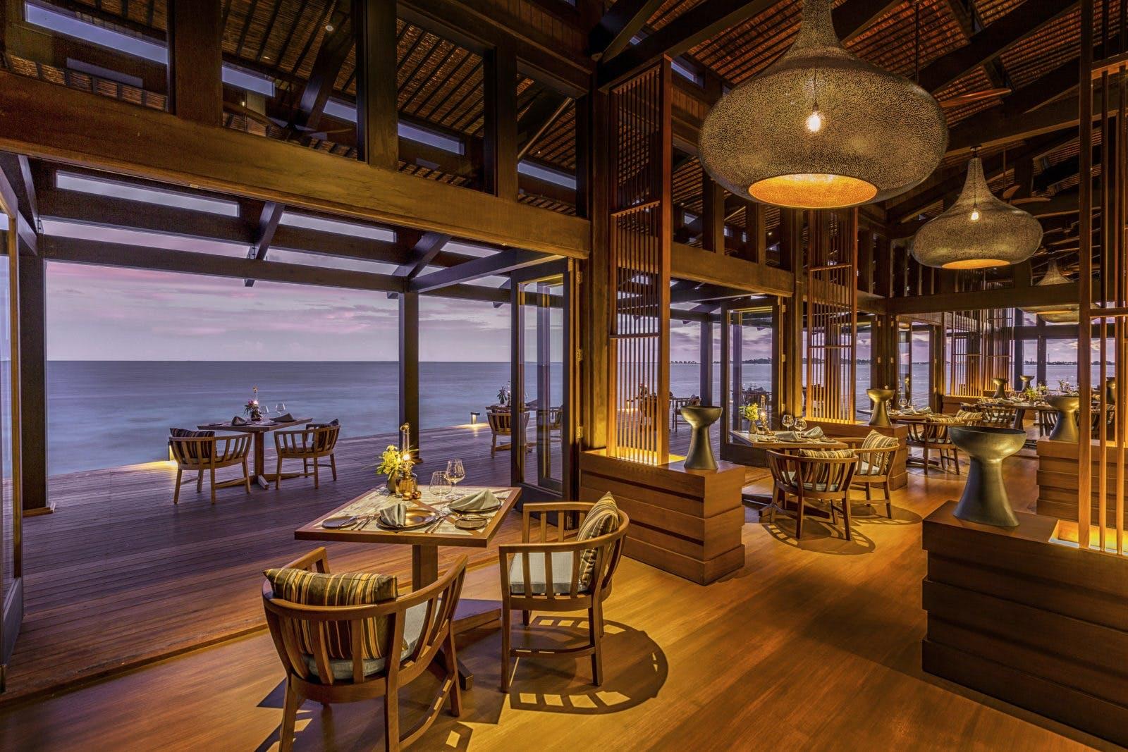 Kudadoo Maldives maldiverne hotel restaurant
