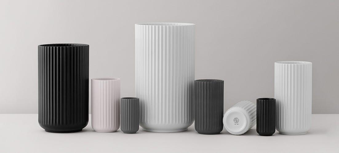 Den klassiske Lyngby Vase har fået former