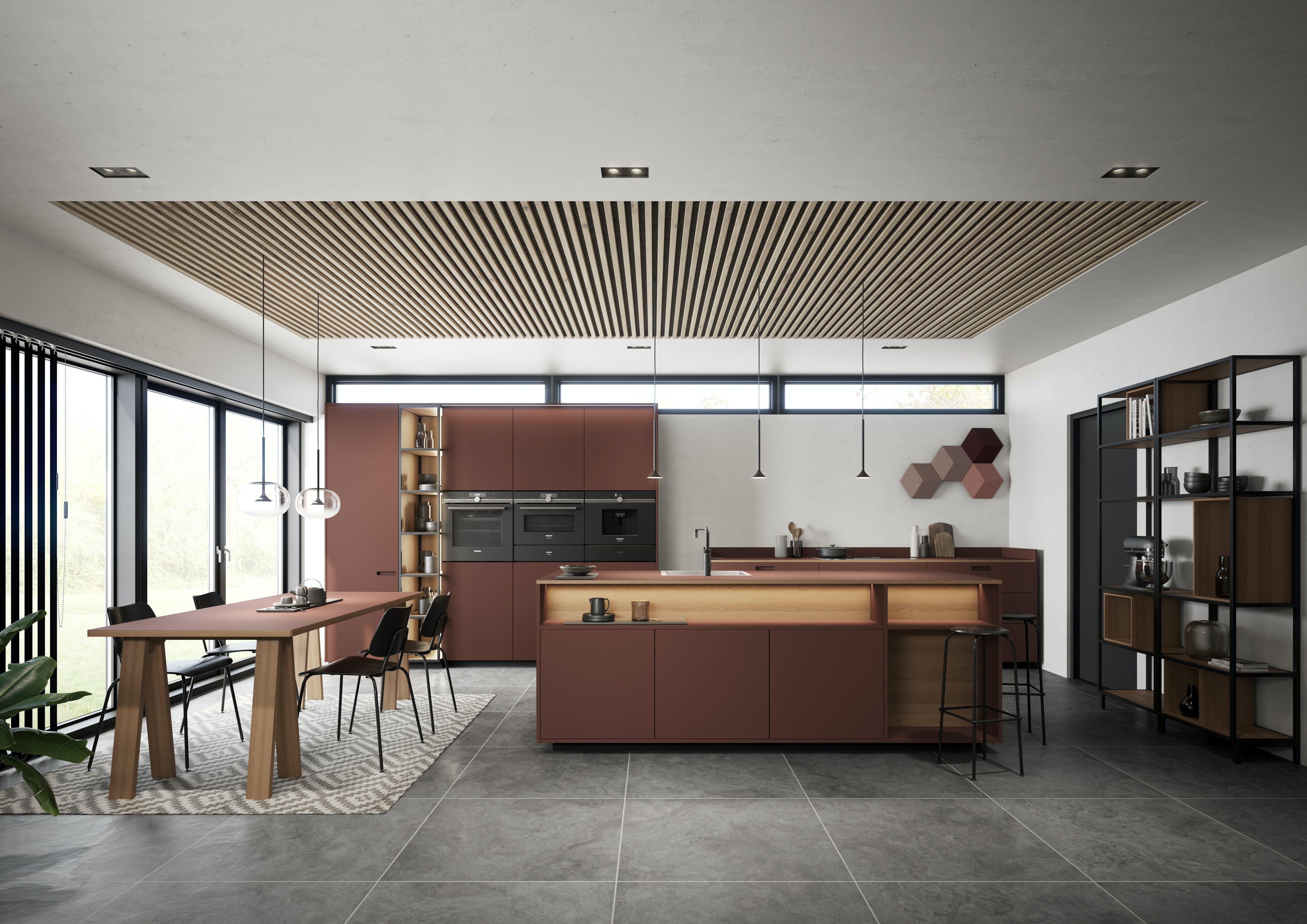 Svane Køkkenet køkkentrends 2019 bladrød