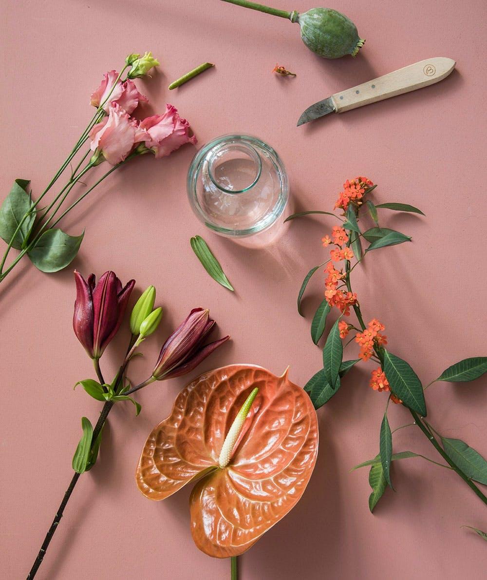 Bloomon blomsterbindingskursus