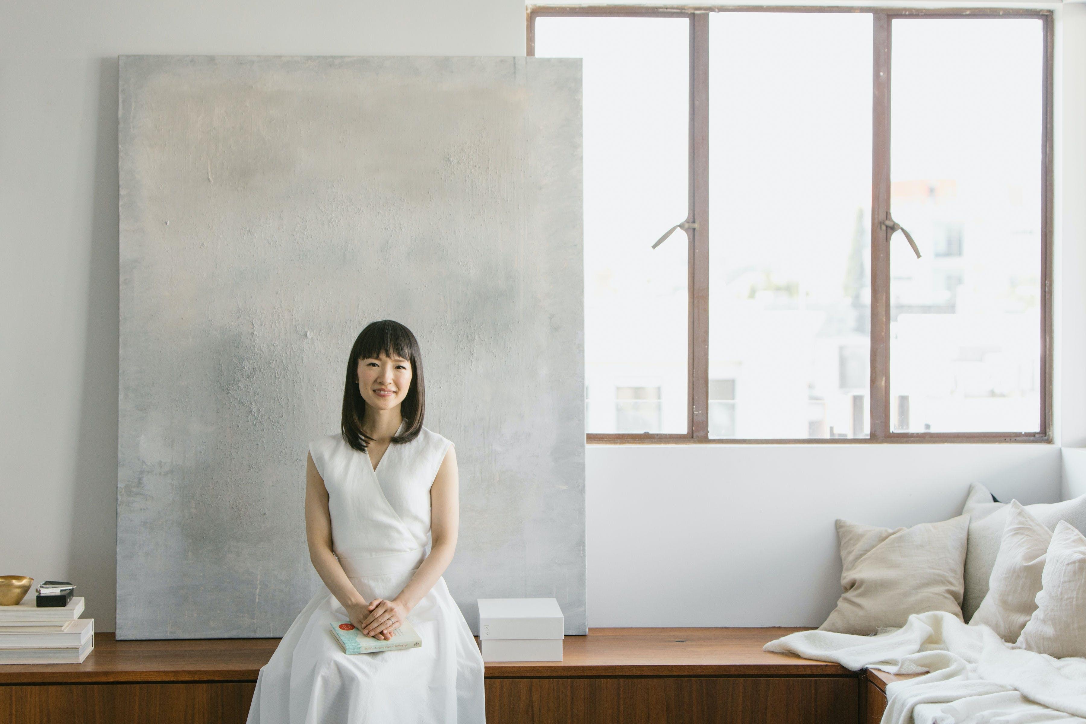 Her er indretningsguru Marie Kondos 5 bedste tips til oprydning