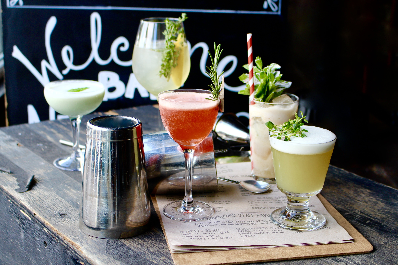 Drinks på cocktailbar i København