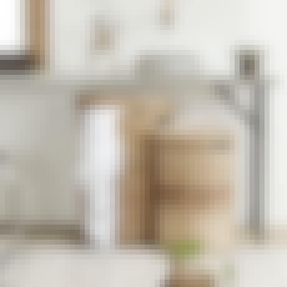 Smukke vasketøjskurve i bambus fra House Doctor