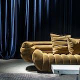Baxter sofa velour gul