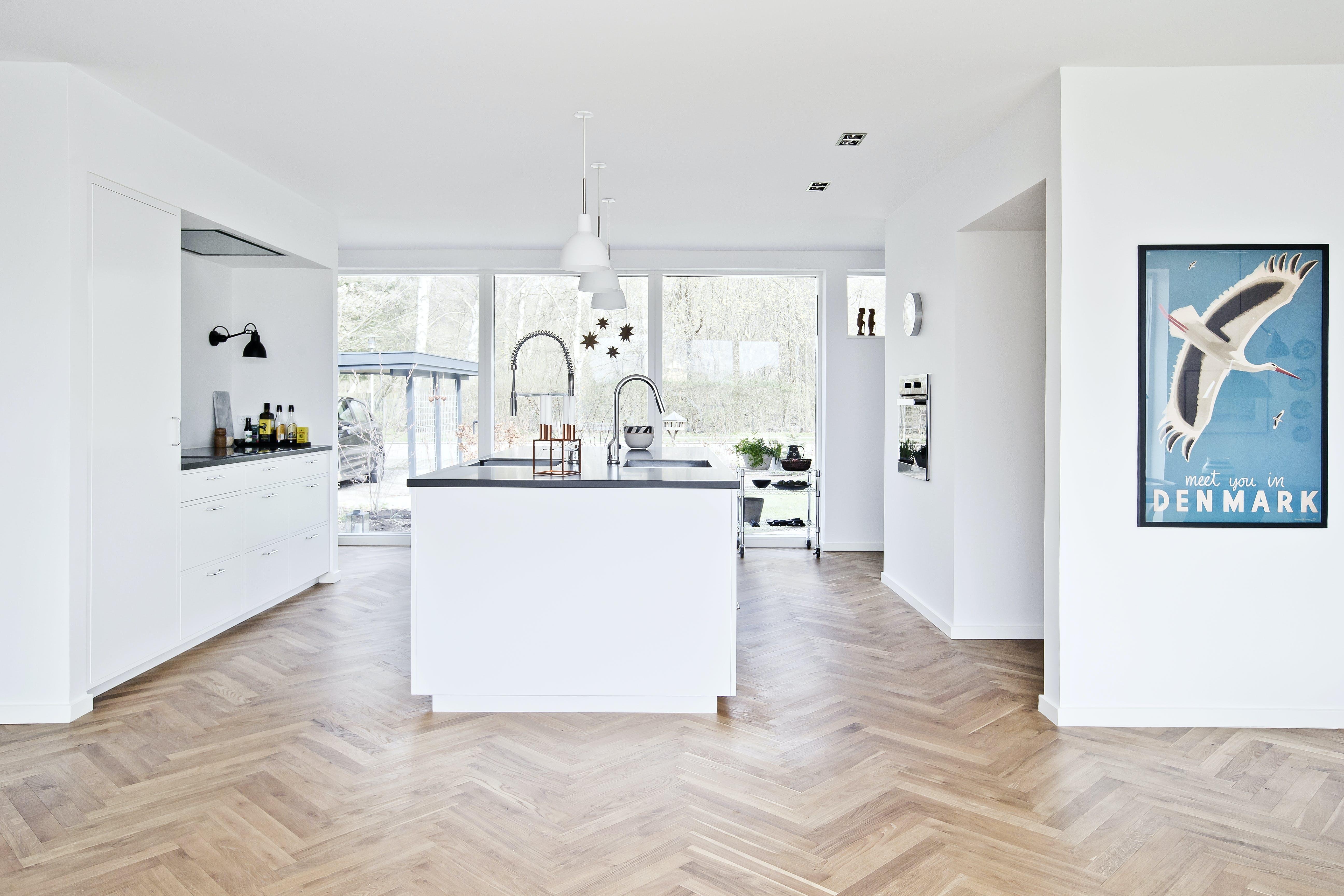 træ køkken gulv danske boligarkitekter