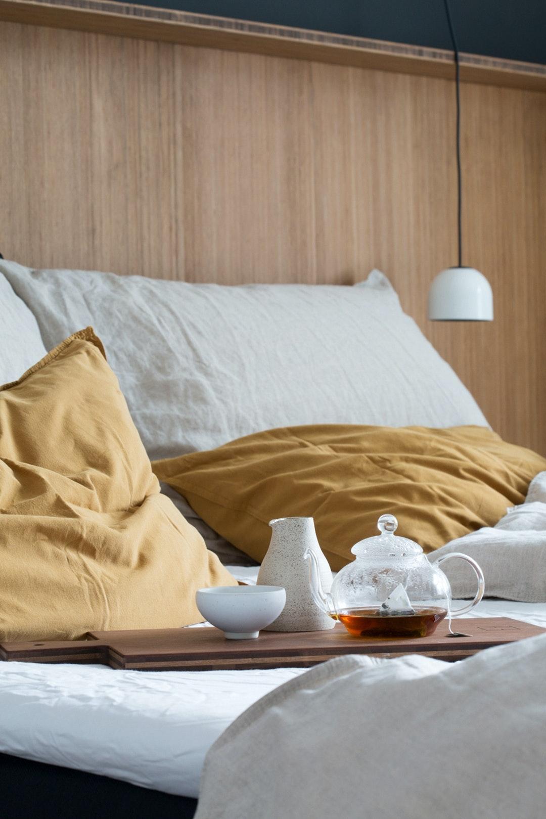 Se Designerparrets Beundringsvaerdige Sovevaerelse Bobedre Dk