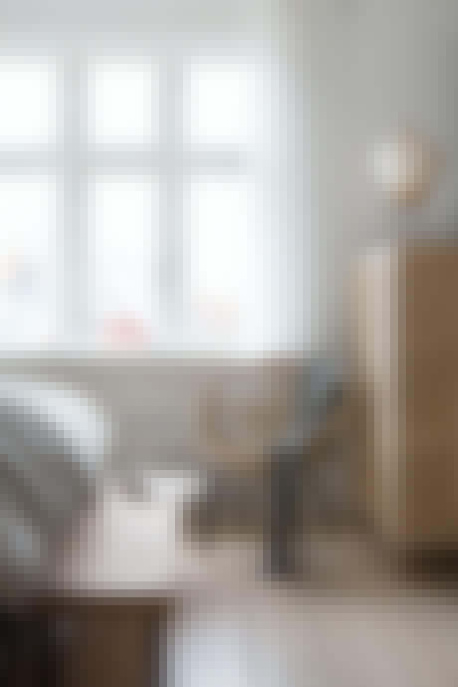 Stol Stockholm IKEA kork rispapir soveværelse