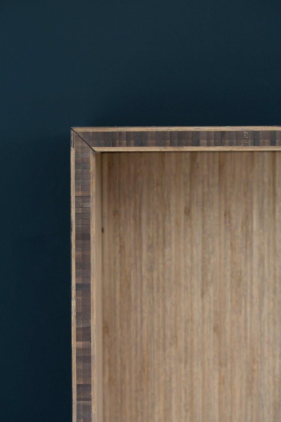 Bambus sengegavl detaljer sovgeværelse