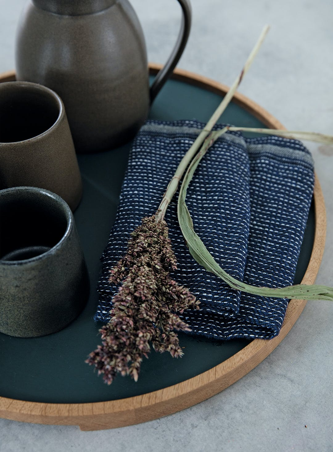 viskestykke keramik rustik bakke