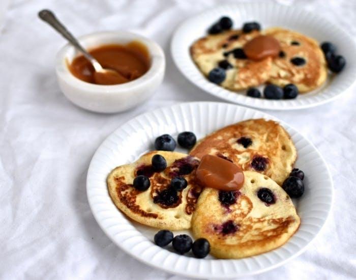 blåbærpandekager morgenmad