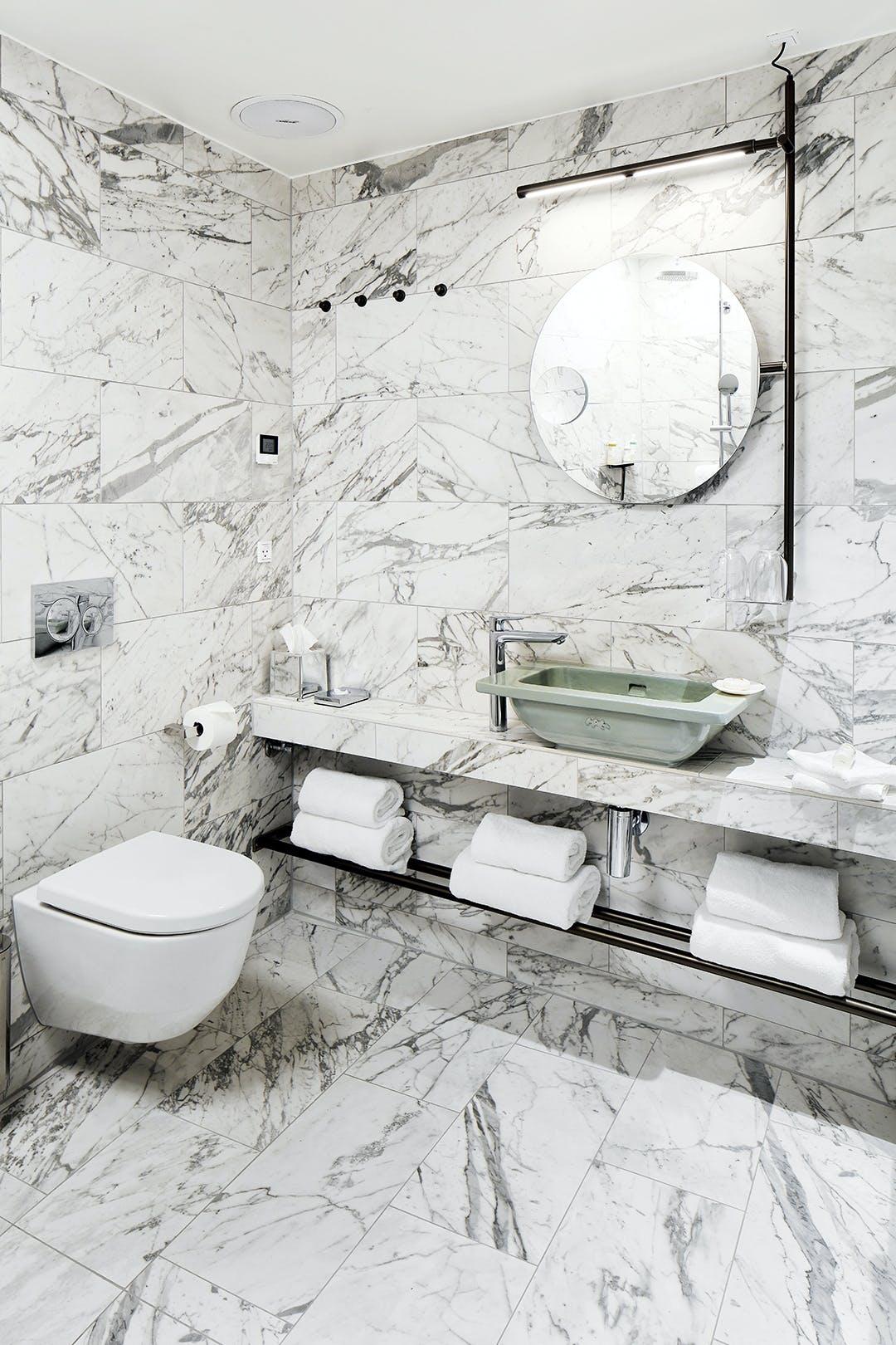 Bæredygtig badeværelse