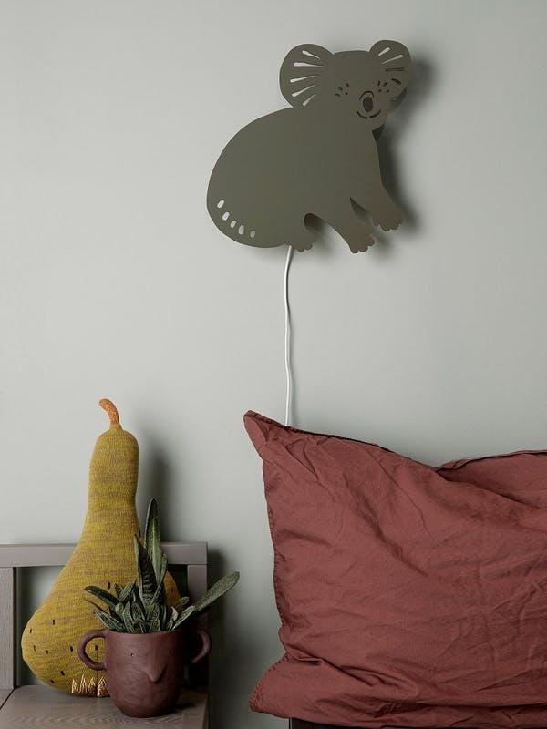Ferm Living koala lampe til børneværelset