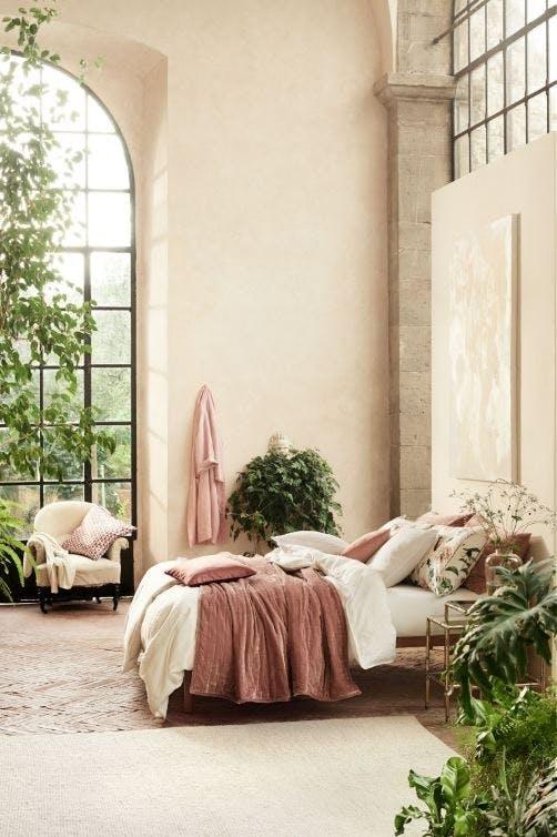 H&M sengetæppe velour