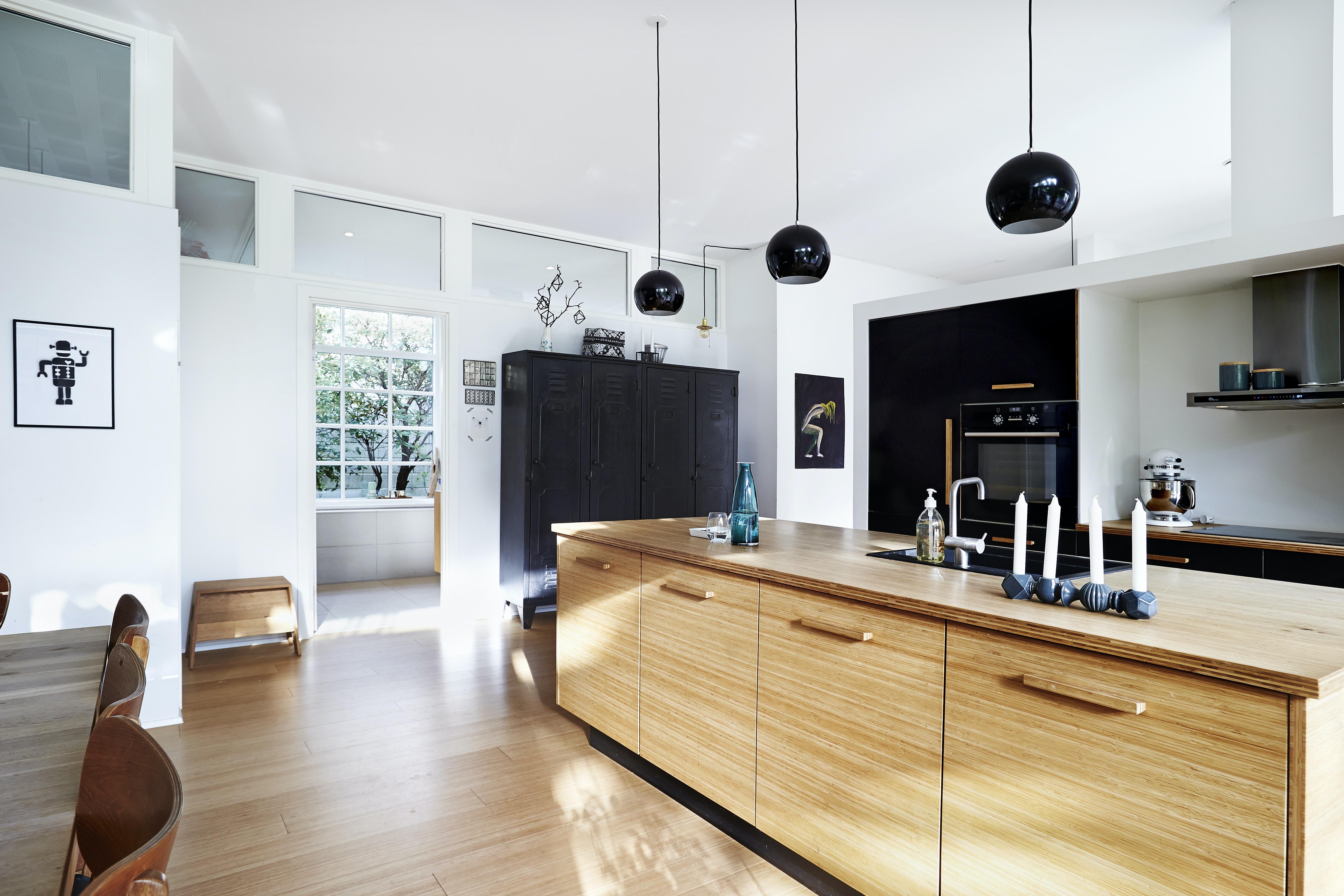 Sådan bruger du træ i køkkenet