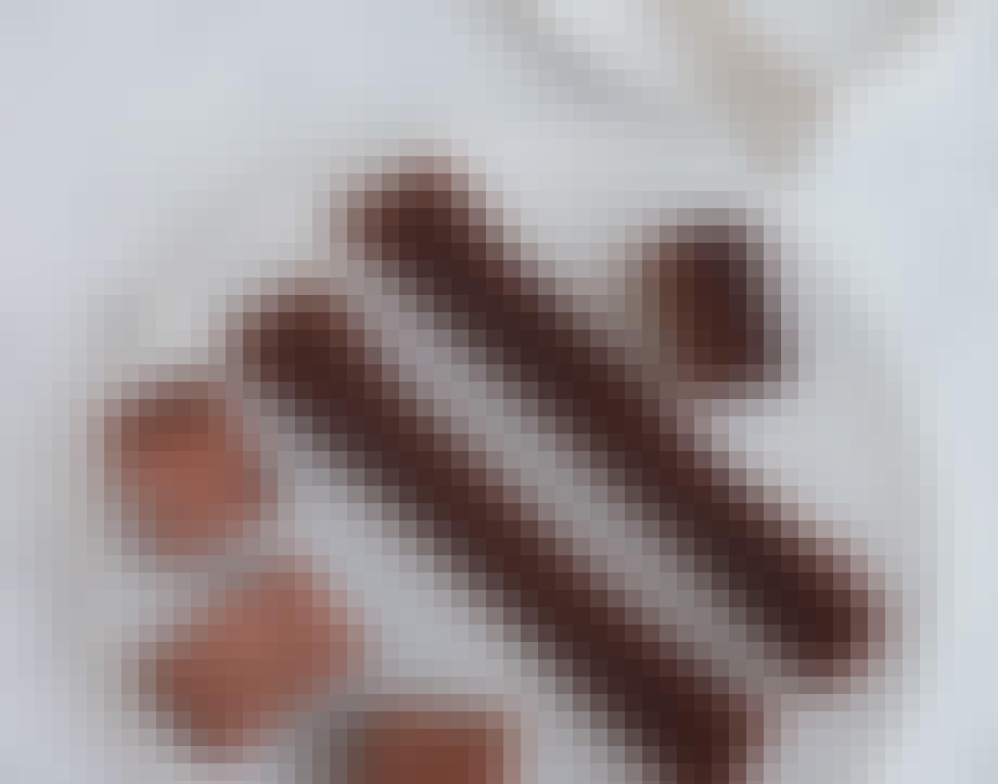 Svampet brownie med kaffe