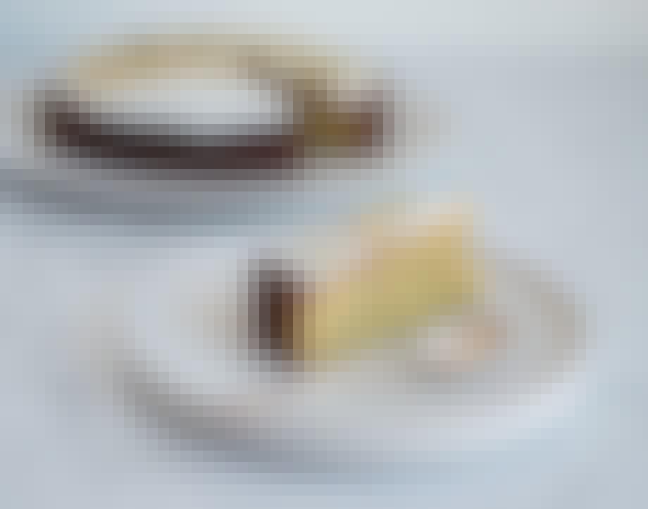 Limekage med marcipan og birkes