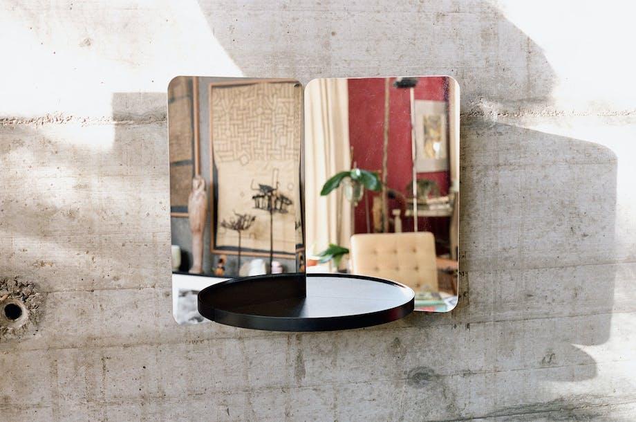 Speilobjekt laget av Daniel Rybakken.