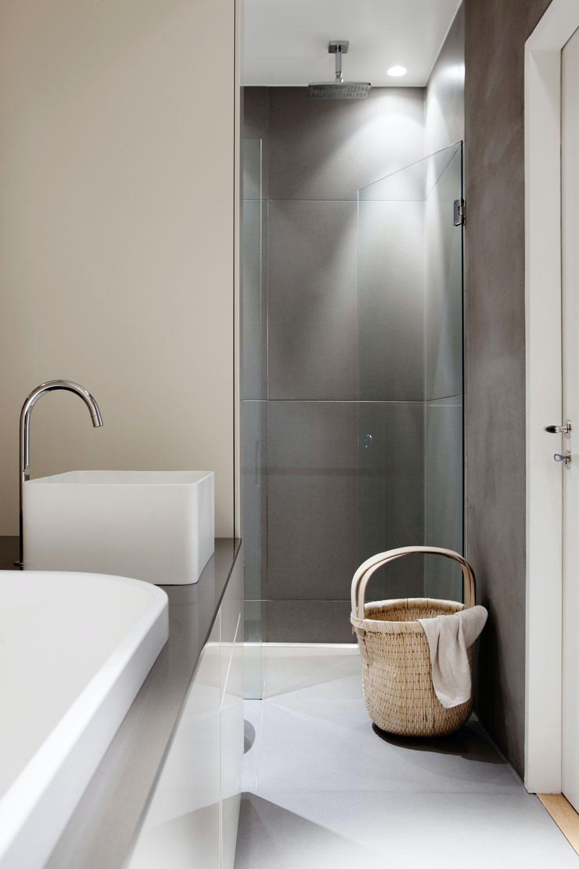 Delikat og praktisk bad