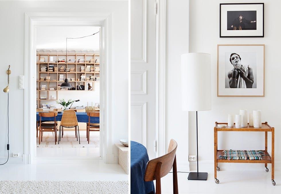 Hjemme hos Lena Kristin Ellingsen og Trond Fausa Aurvåg