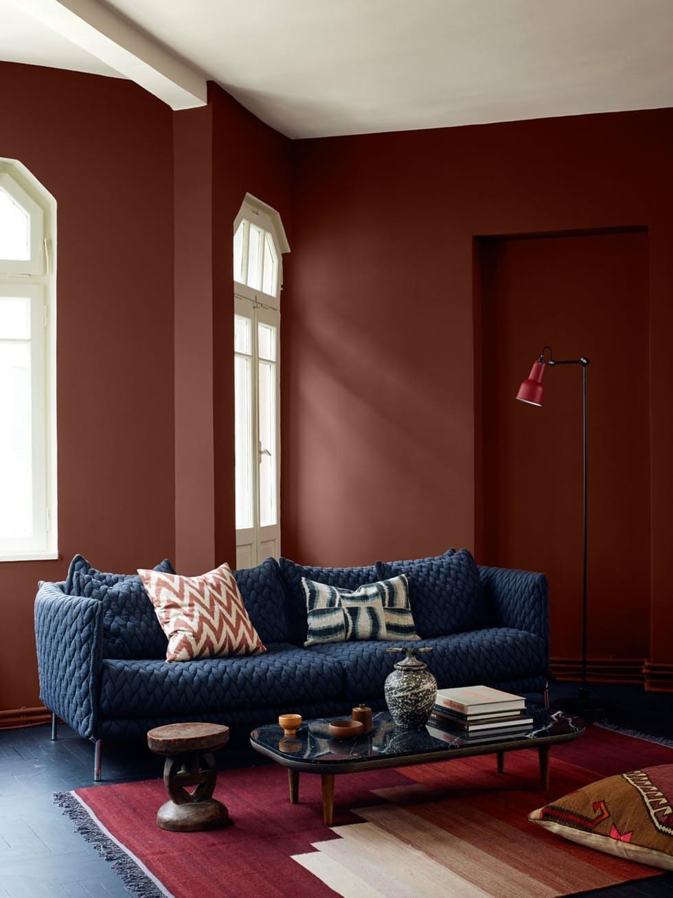 Velg riktig farge på veggen
