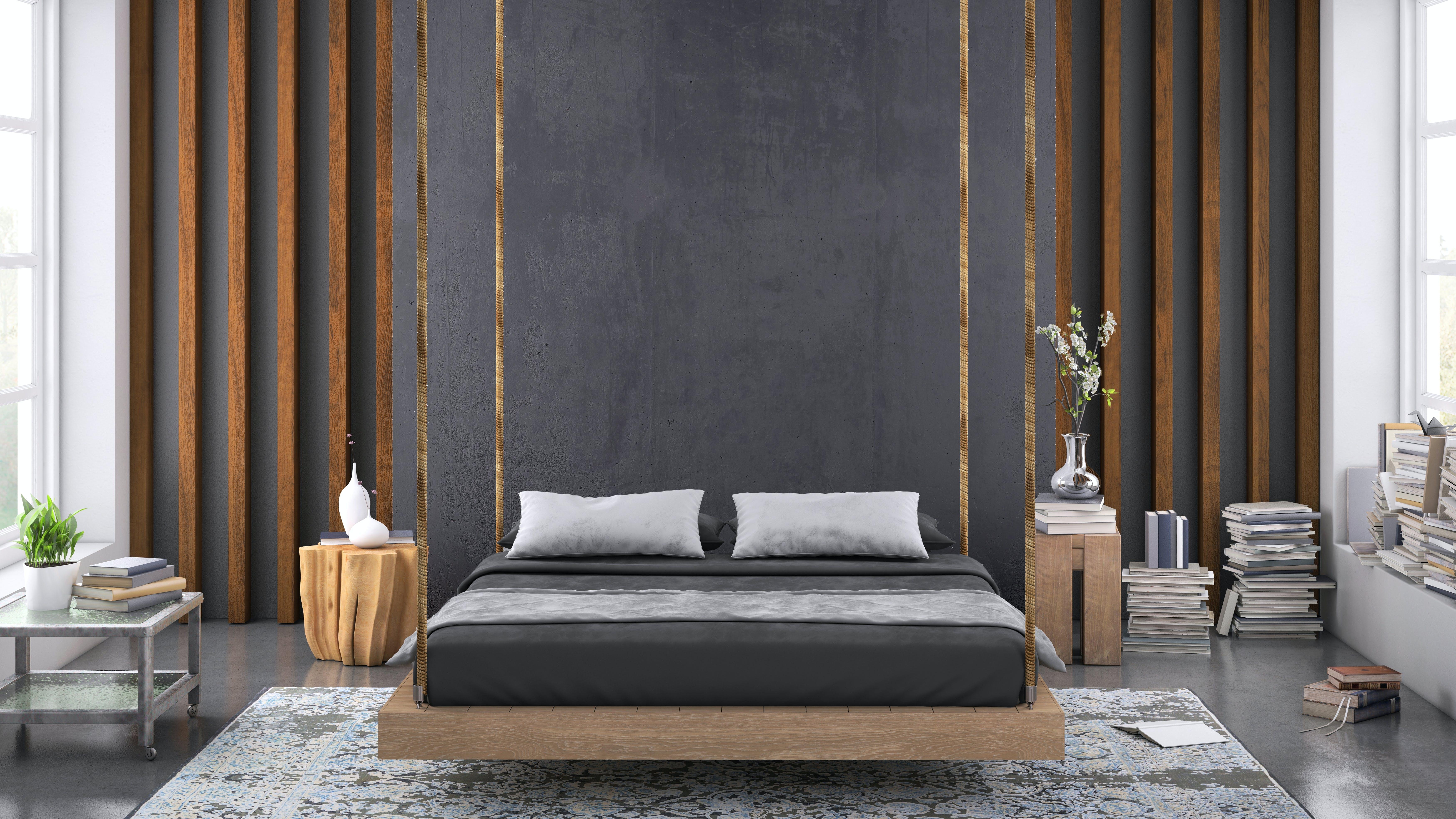 grå stue / grå vegg