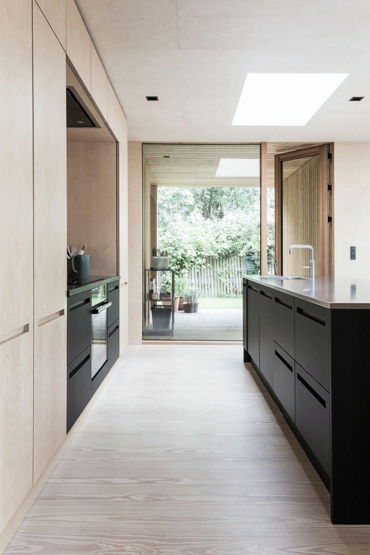 Kjøkken med utgang til terrassen