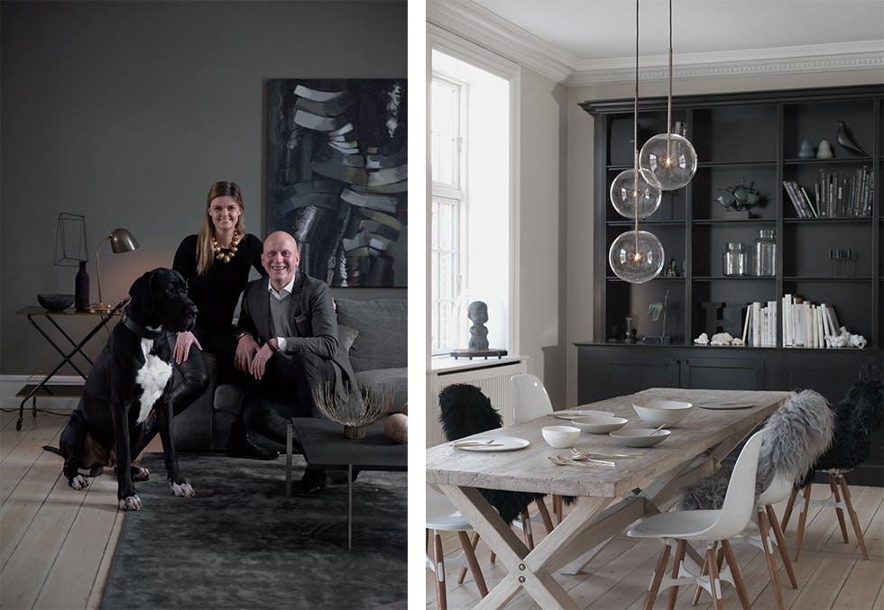 Hjemme hos Lene Halse Hornemann i København.