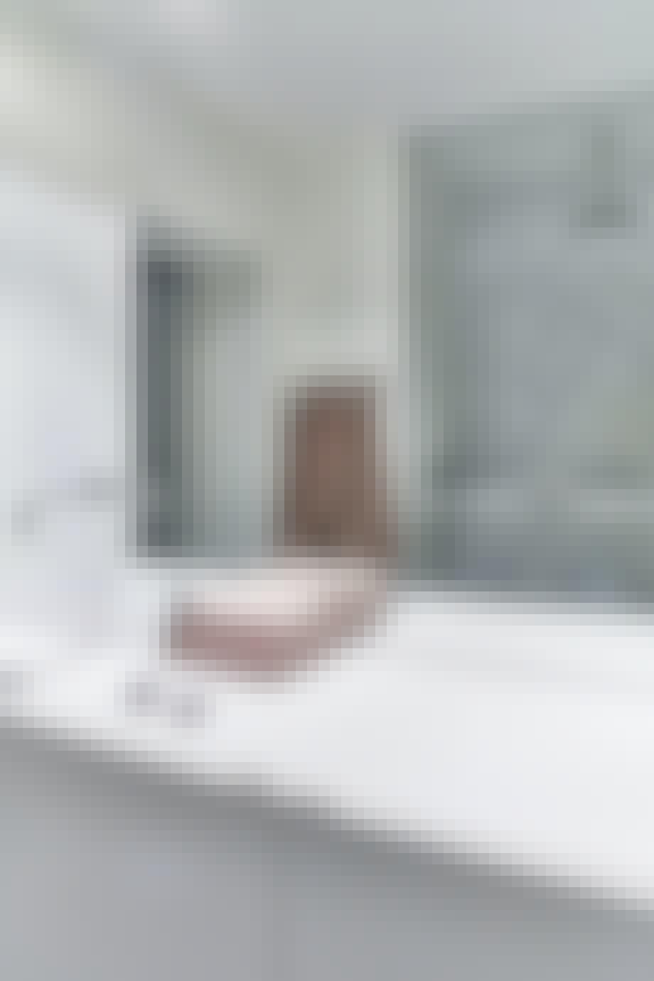 Marmor også på badet