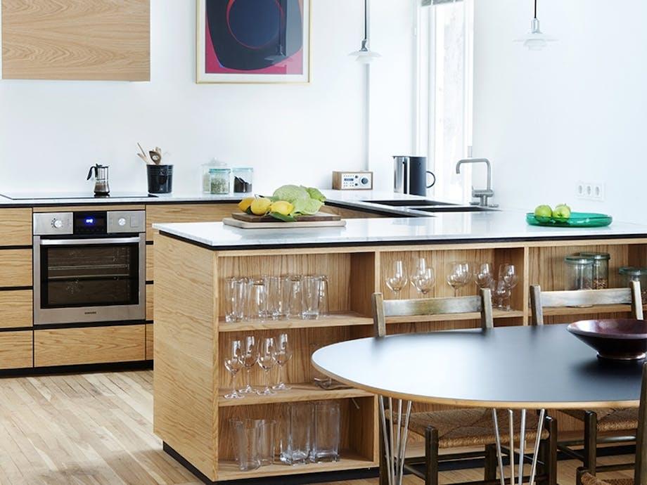 1. Kjøkken med smart planløsning