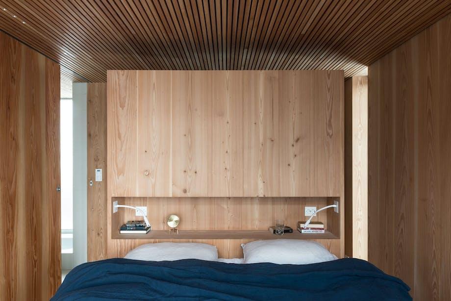Åpen løsning på soverommet