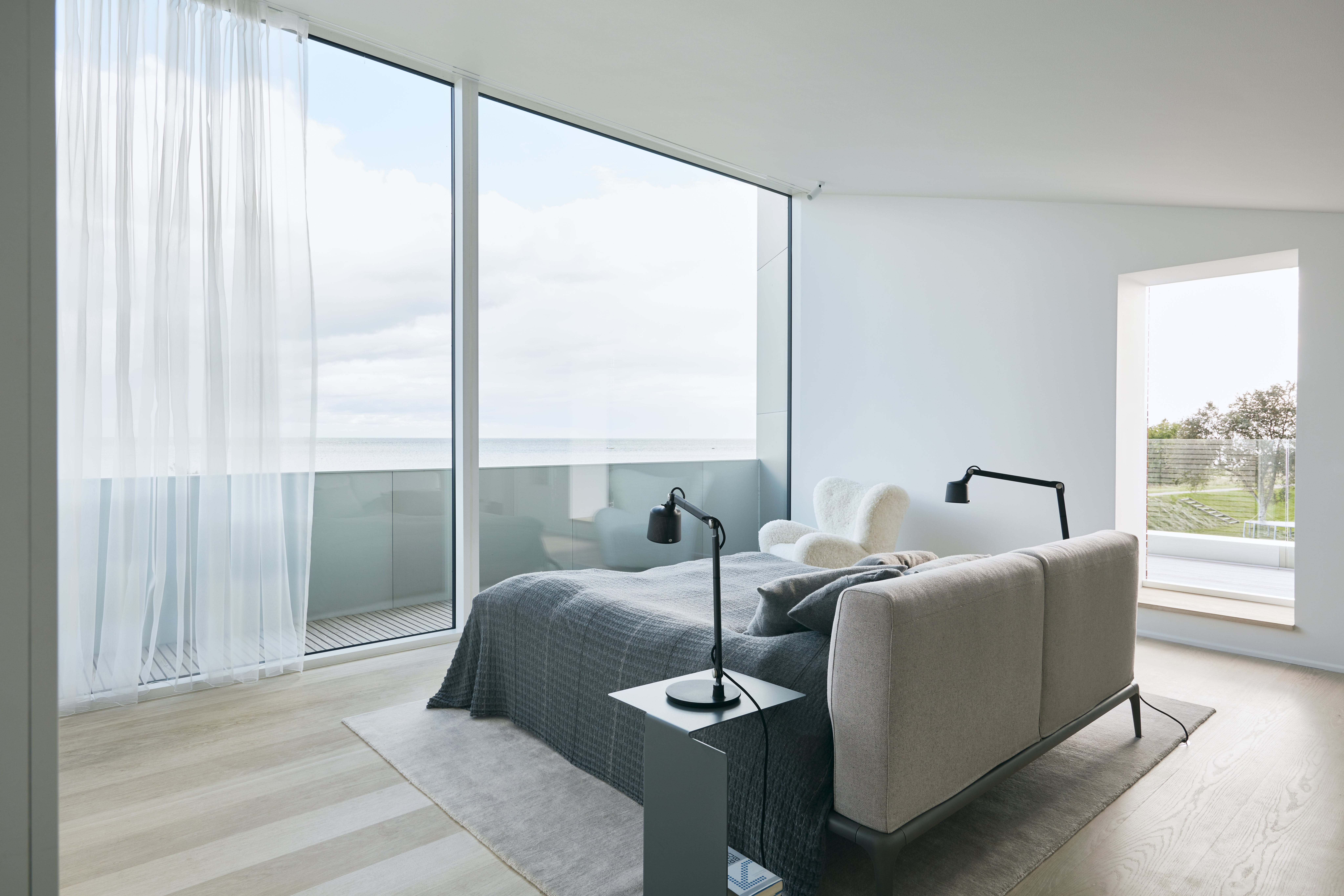 Unik utsikt fra soverommet