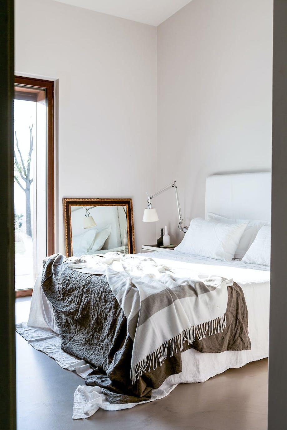 Helhetlig palett på soverommet