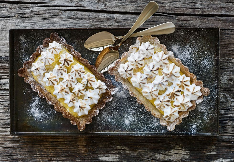 frisk og deilig dessert
