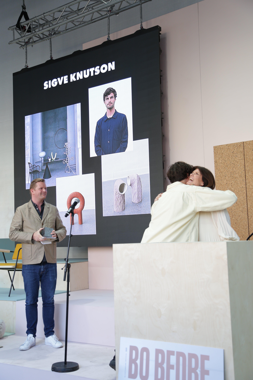 Sigve Knutson ble årets designer