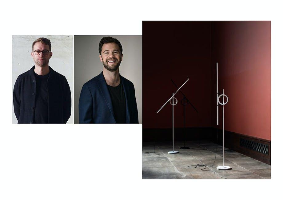 Årets lampe: Tangent av Jenkins & Uhnger for Pallucco