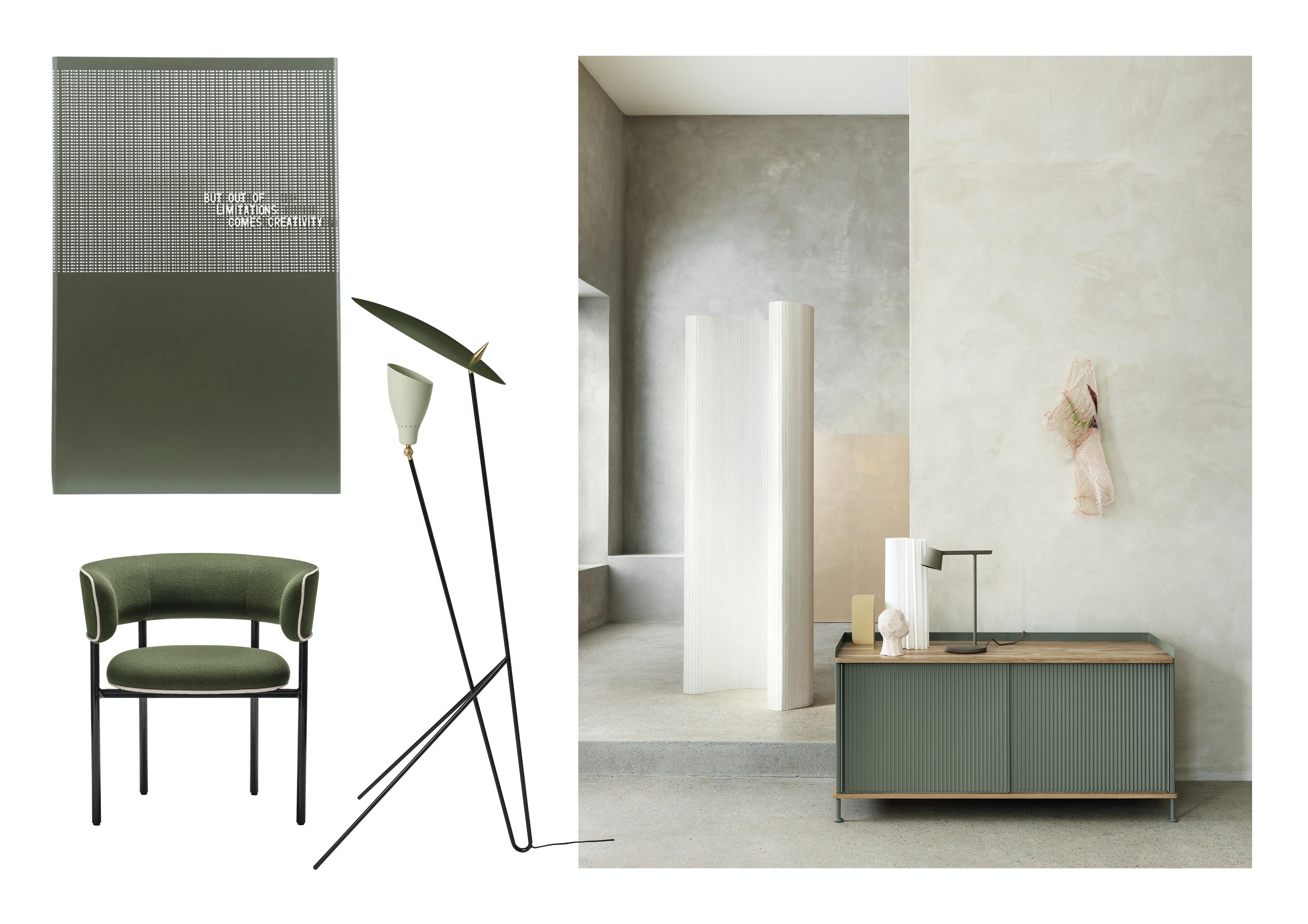 stol | lampe | skjenk