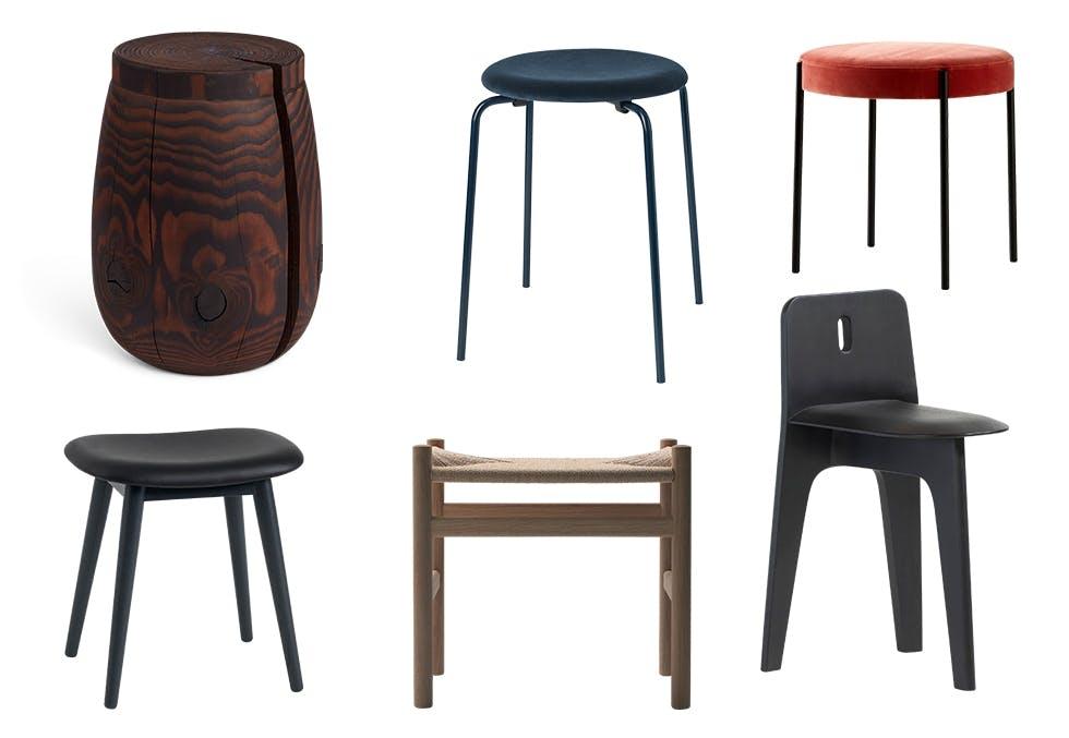 Små møbler, puffer og krakker
