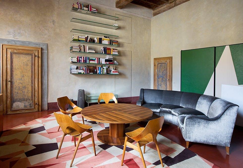 italiensk interiør og design